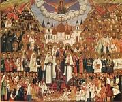 ОГРОМНОЕ СВЕРКАЮЩЕЕ ОБЛАКО СВИДЕТЕЛЕЙ О ГОСПОДЕ ИИСУСЕ: Слово в день Всех святых, в земле Российской просиявших